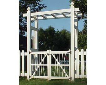 Courtyard Arbor Gate Kit