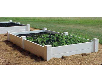 4x8 Two-Board Raised Planter Bed / Sand Box.