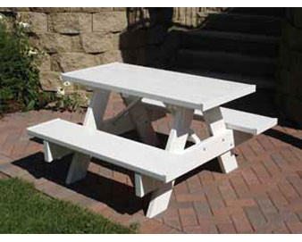 4-Ft Kids Picnic Table