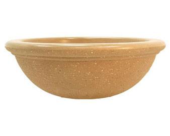 Round Dish Concrete Planter - 48Dx18H