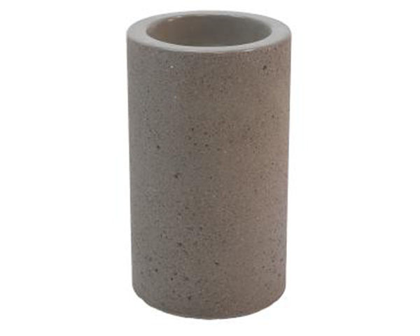 Simple cylinder ash receptacle