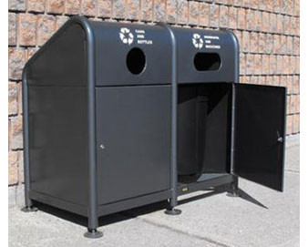 Double Recycling Station