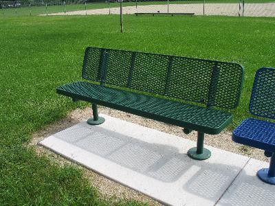 8-ft Supreme Champion Memorial Bench