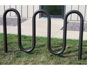 Premier Plastisol Coated 3 Loop Bike Rack
