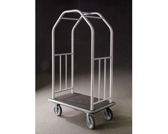 41L Deluxe Bellman Cart with Four 8D Solid Rubber Wheels