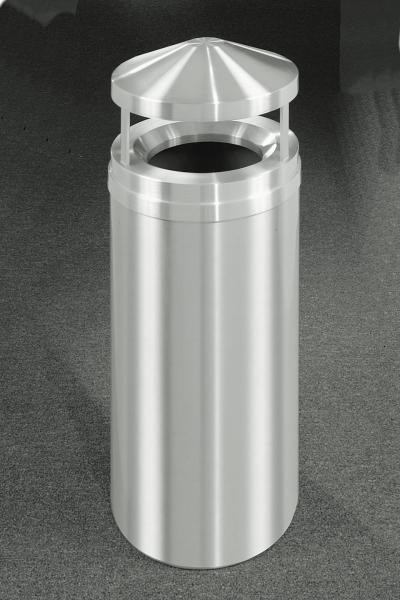 16-Gal Canopy Top Waste Receptacle