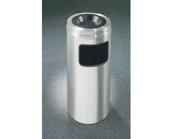 10-Gal Sand Cover Ash/Trash Receptacle
