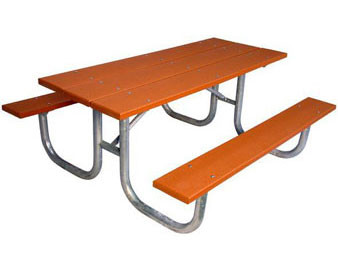 Heavy Duty Recycled Plastic Picnic Table