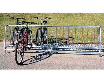 10-Ft. Double-Sided Traditional Bike Rack