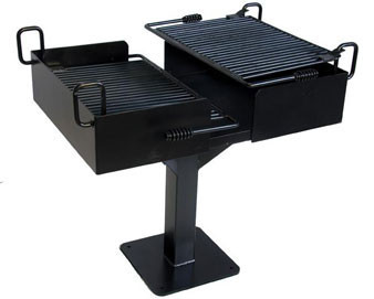 1064 Sq. Cantilever Park Grill