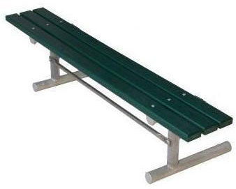 Portable Frame for Park Bench without Back