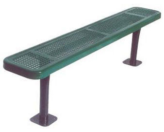 8-Ft. Heavy-Duty Team Bench without Back