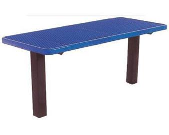6-Ft. Multi Pedestal Inground Utility Table