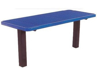 6-Ft. Multi Pedestal Surface Mount Utility Table