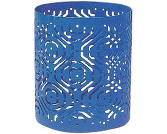 Fiesta Pattern Trash Receptacle