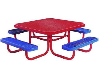46 Octagonal Preschool Picnic Table
