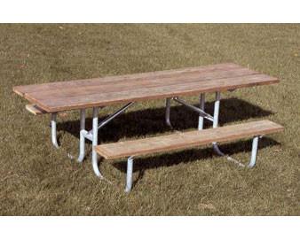 8-Ft. ADA Aluminum Picnic Table