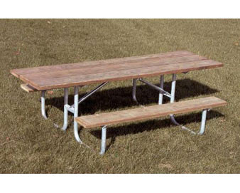 8-Ft. Double-Sided ADA Recycled Plastic Picnic Table