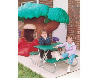 3-Ft. Multicolor Preschool Picnic Table