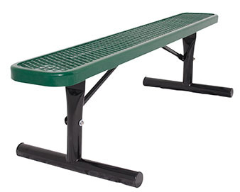 Everest Series 6-Ft. Park Bench without Back