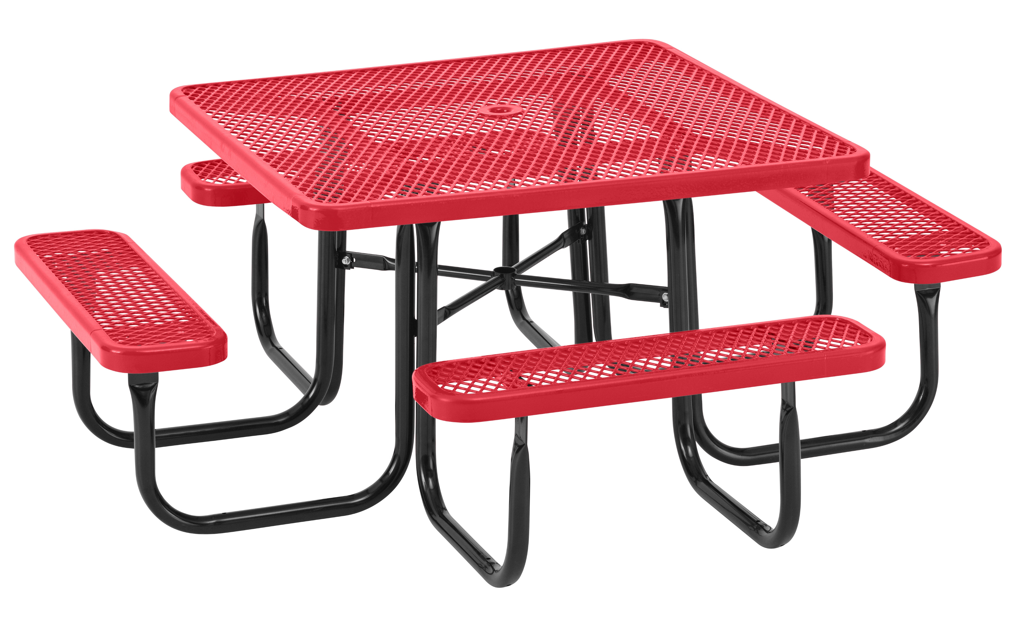 Everest Series 46 Square Picnic Table
