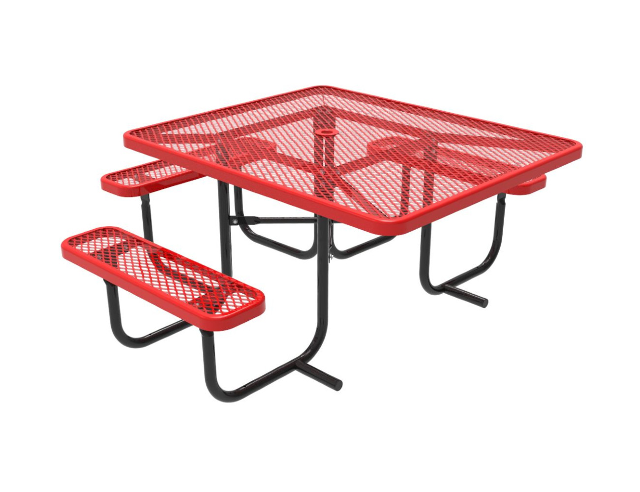 Everest Series 46 Square ADA Picnic Table