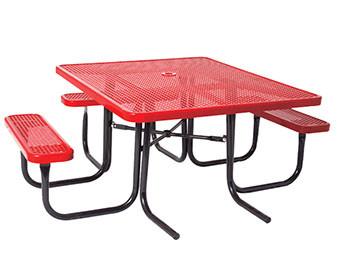 Everest Series 46 Square ADA Picnic Table