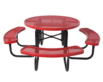 Everest Series 46 Round Picnic Table