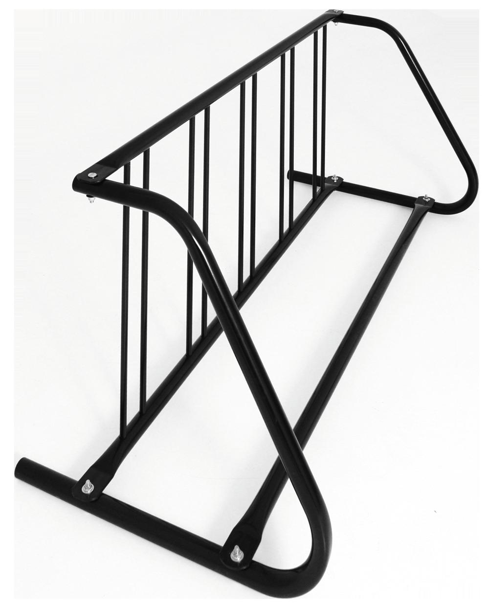 5-Bike Single-Sided Grid Bike Rack