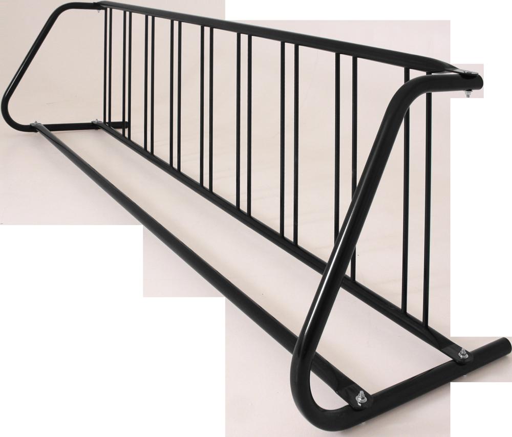 9-Bike Single-Sided Grid Bike Rack