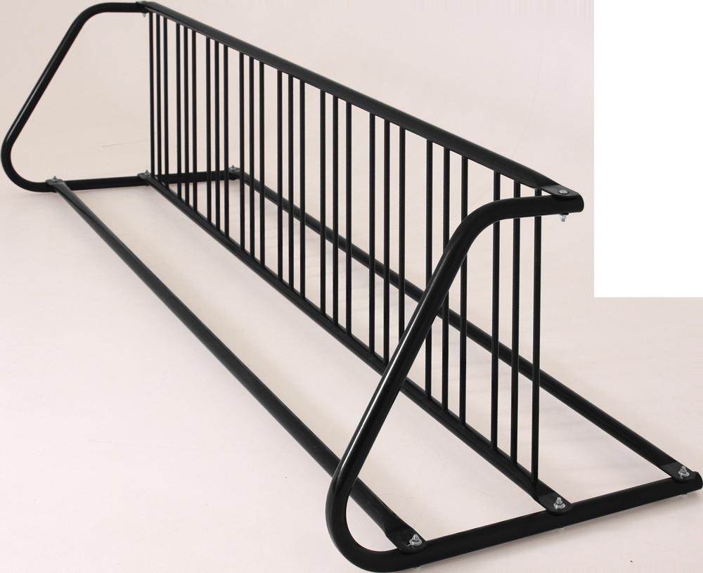 18-Bike Double-Sided Grid Bike Rack