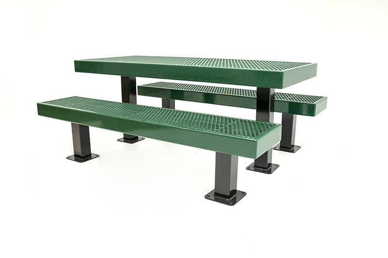 6' Mall Picnic Table