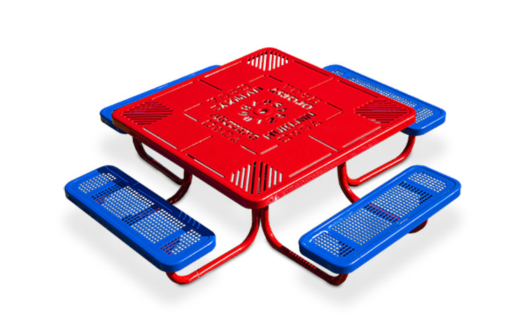 Preschool Learning Picnic Table