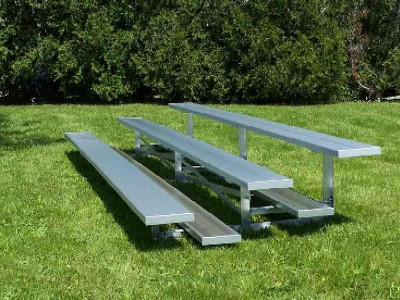 3 Row Aluminum Bleachers - Sideline Series