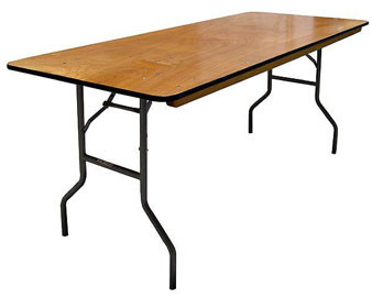 Banquet Plywood Folding Table - Set of 2