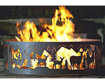 Whitetail Fire Ring - 30D, 38D or 48D