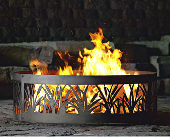 Cattail Fire Ring - 38D or 48D