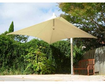 Vista Series Retractable Cantilever Shade Structures - Rectangle Design