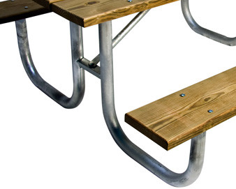 Galvanized Frame for Picnic Table