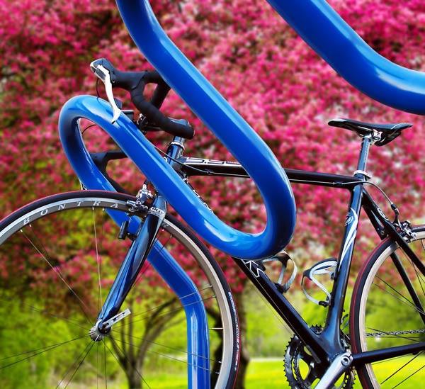 6 Bike - Tilted Wave Rack - Heavy-Duty