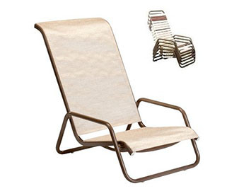 Sling High Back Beach Chair