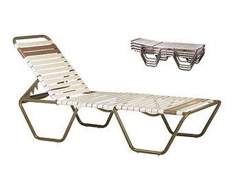 Strap Chaise Lounge