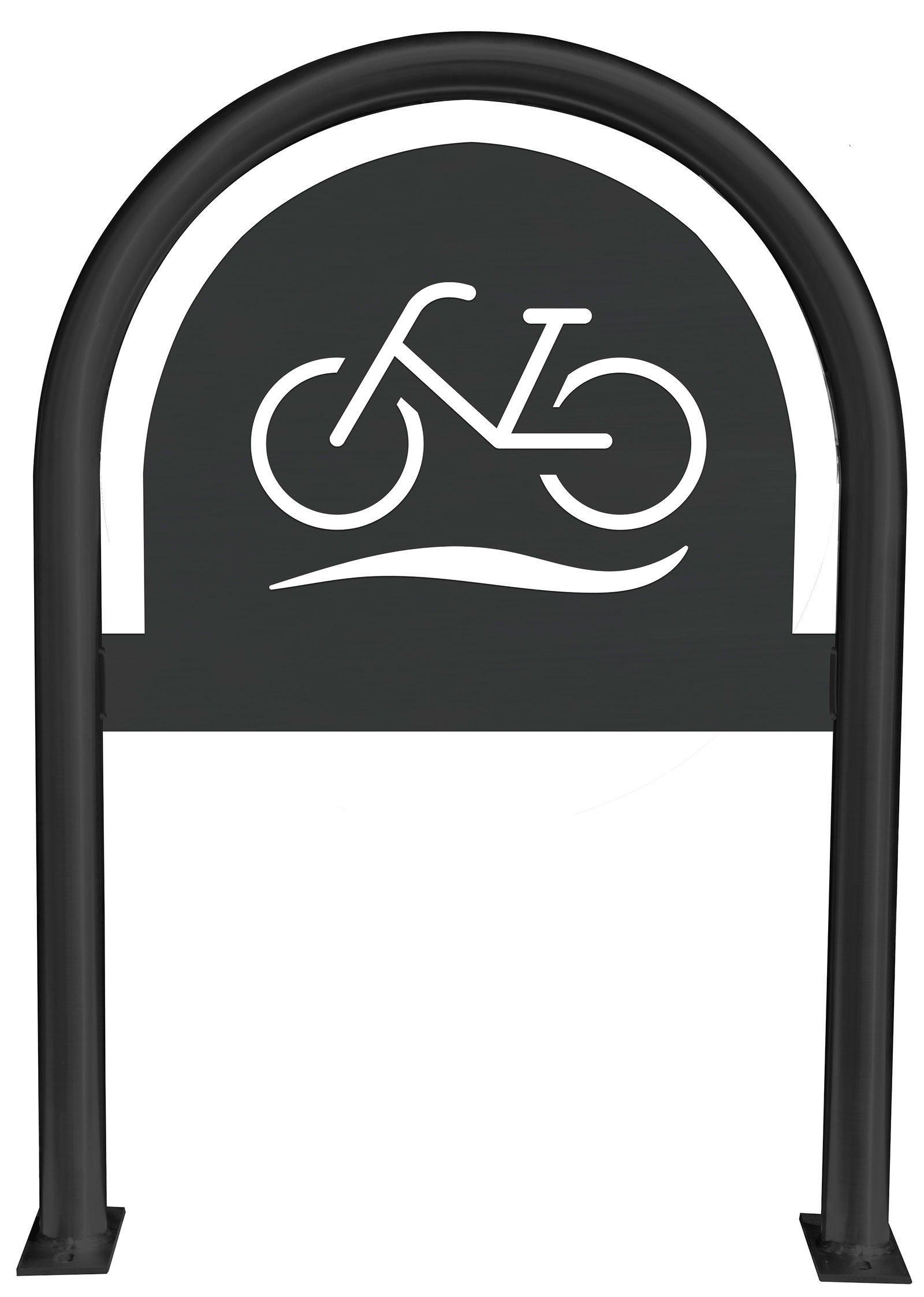 Bicycle Laser Cut Panel Themed Bike Rack