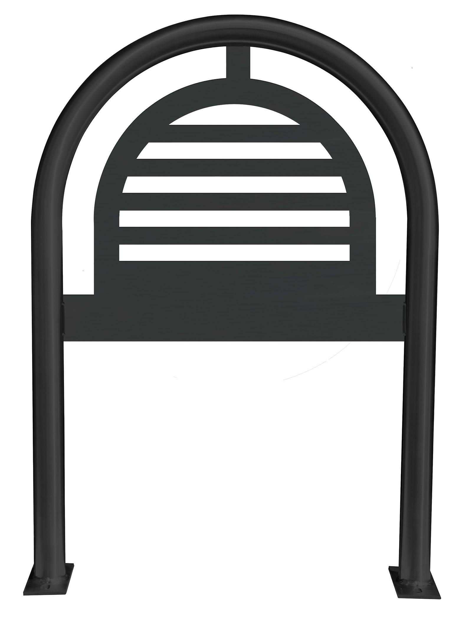 Plaines Laser Cut Panel Architectural  Bike Rack