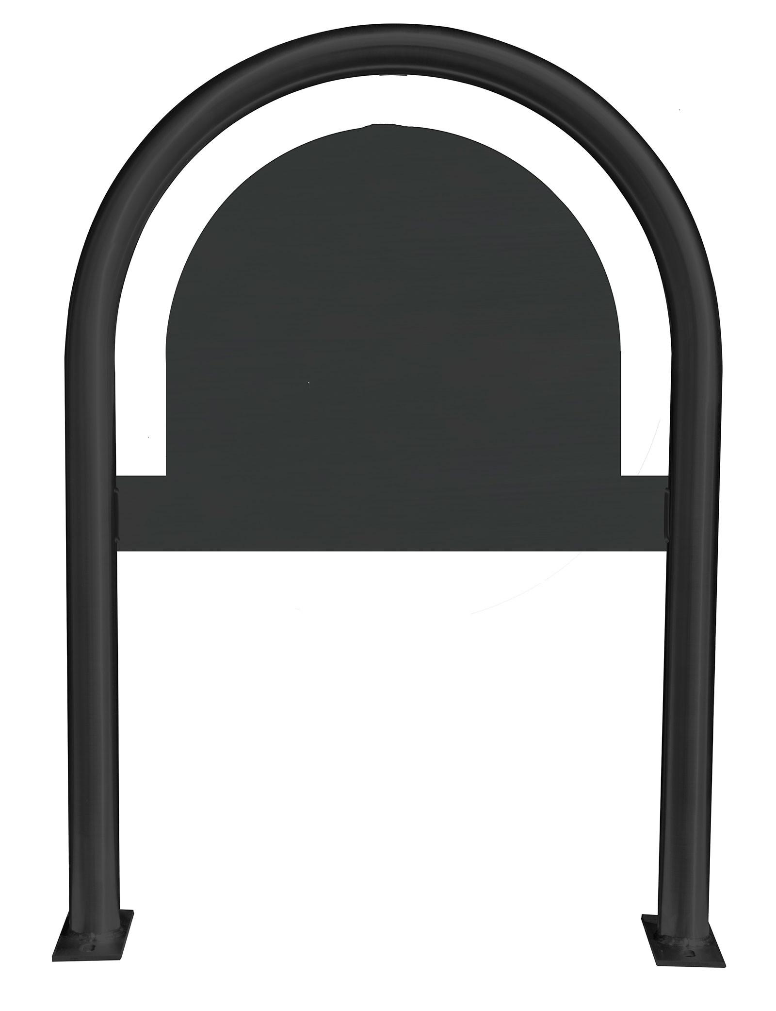 Custom Logo Laser Cut Panel Themed Bike Rack