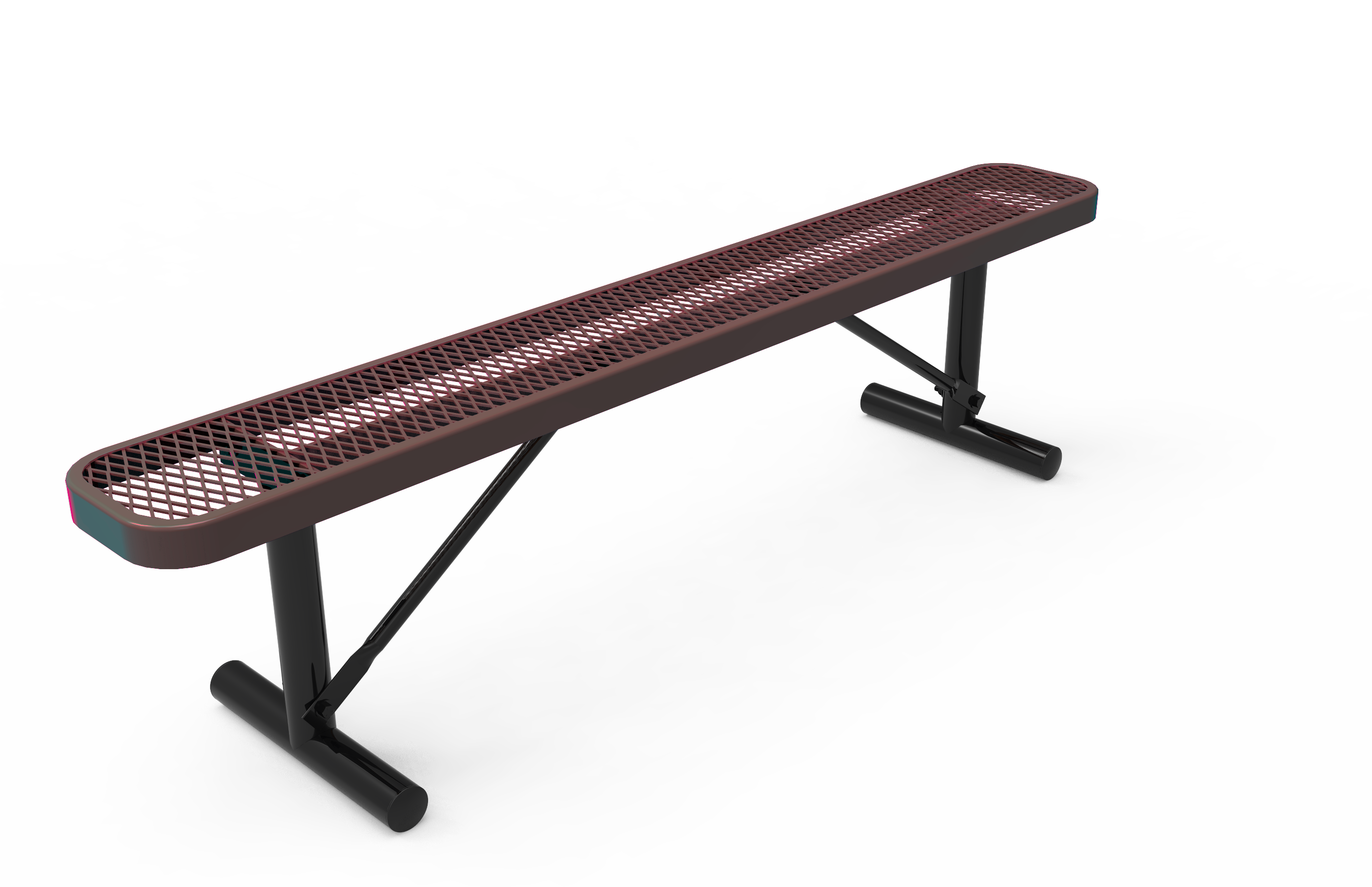 8-Ft. Park Bench without Back
