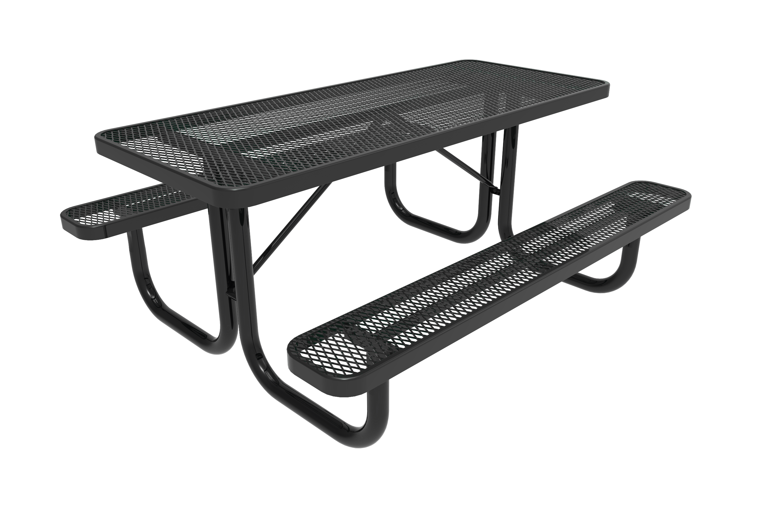 8-Ft. Heavy Duty Rectangular Picnic Table
