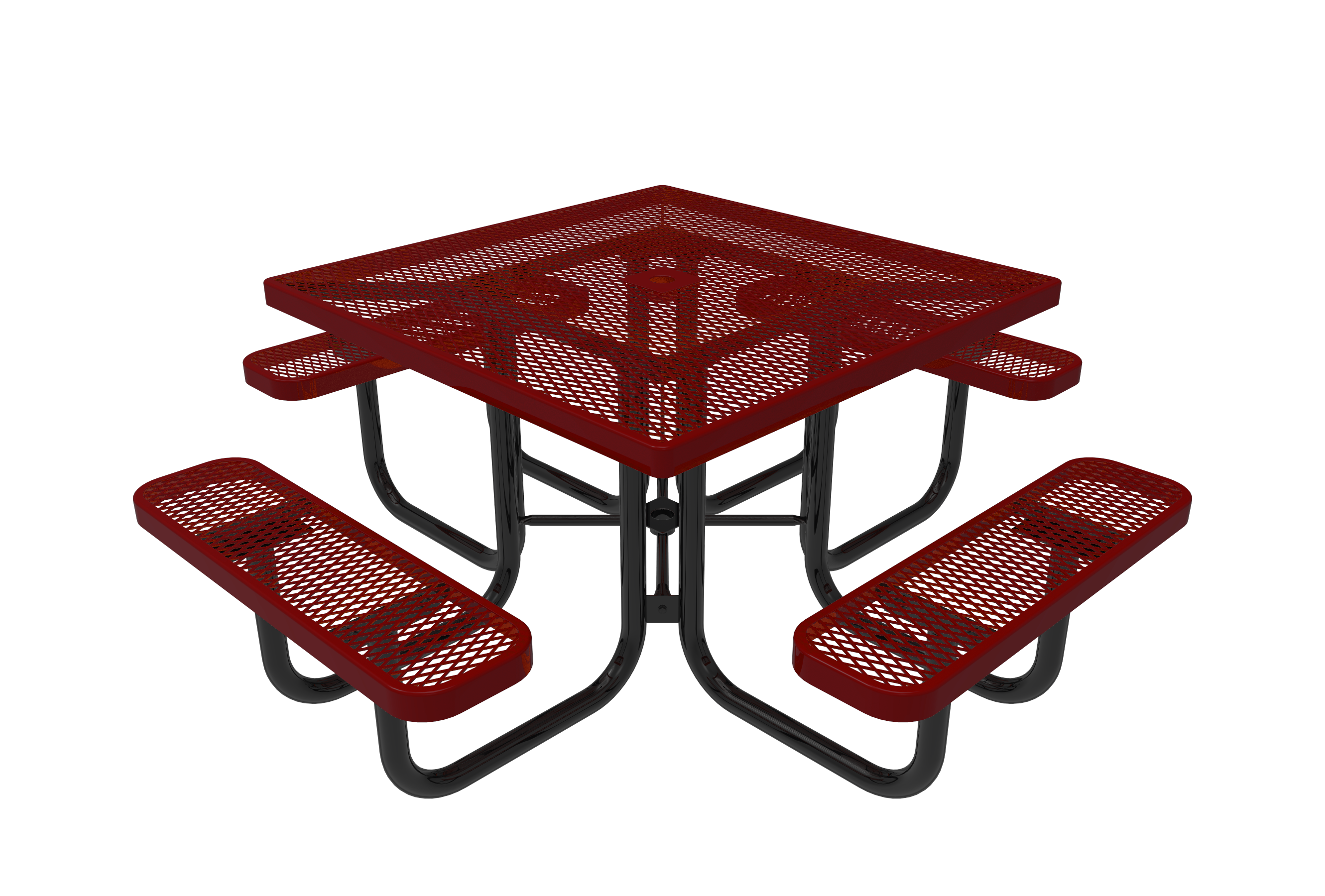 46-in. Square Picnic Table