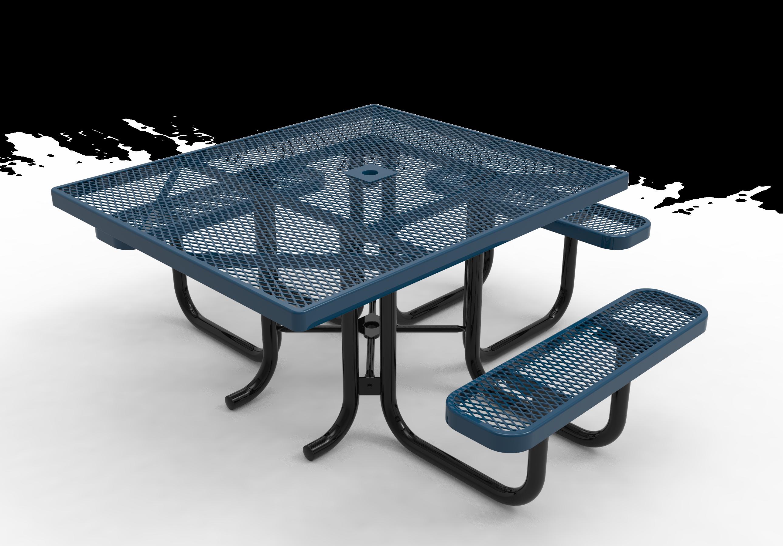 46-in. Square ADA Picnic Table