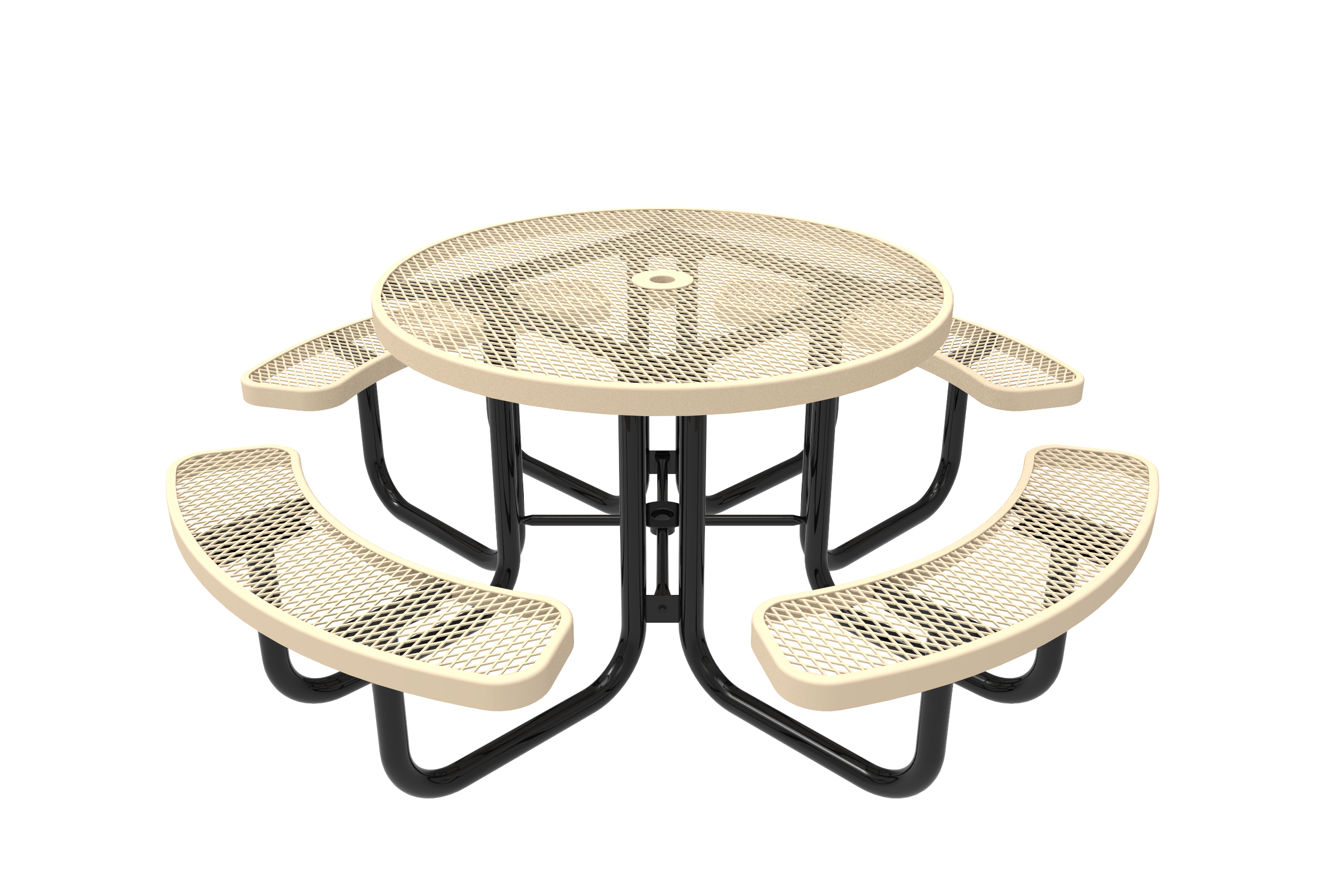 46-in. Round Picnic Table